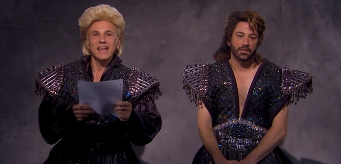 Christoph Waltz and Jimmy Kimmel audition for Siegfried and Roy