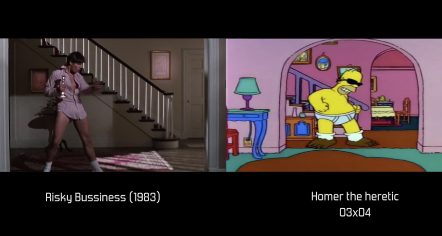 VOTD: The Simpsons Movie References Side-by-Side Supercut   907 x 484 jpeg 158kB