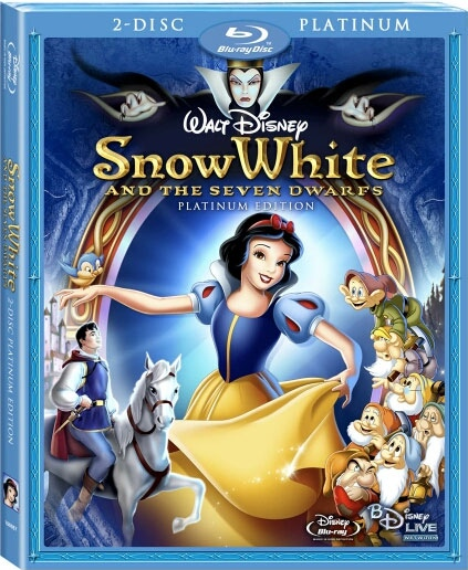 snow white bluray