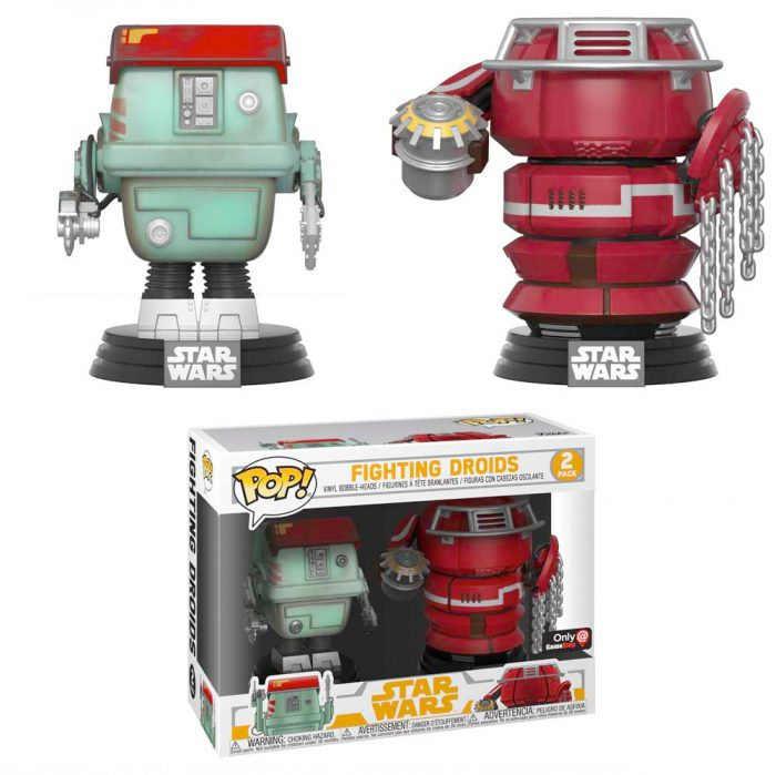 Solo: A Star Wars Story Funko POP Droid Fight