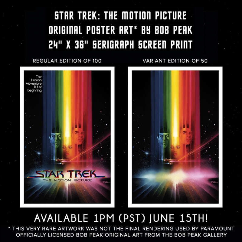 Star Trek The Motion Picture Poster Is Getting A Limited Edition Release
