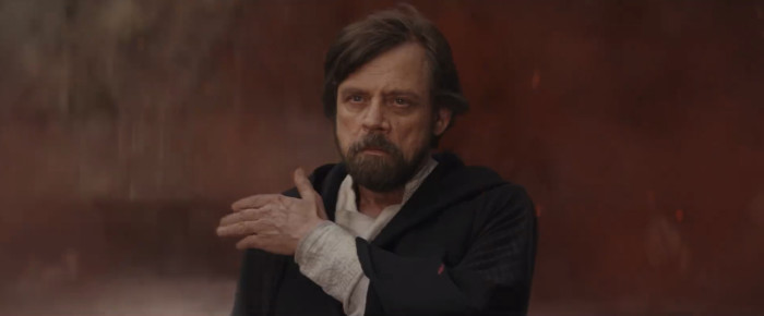 Star Wars The Last Jedi - Mark Hamill as Luke Skywalker - What Defines Star Wars
