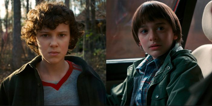 'Stranger Things': How Millie Bobby Brown Invented Eleven's Gestures, and Noah Schnapp's Intense Possession ...