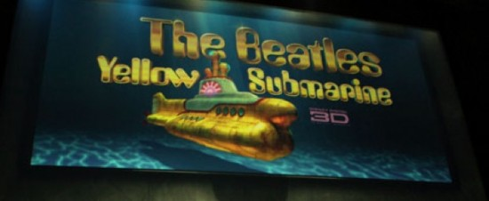 yellow submarine in 3d