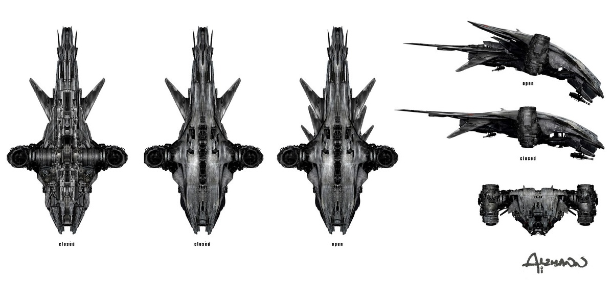 My HK-Aerial will not have the  quot open quot  mode as seen in the above image    Terminator Salvation Hunter Killer