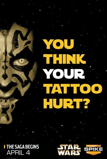 Tattoo Spike TV Darth Maul