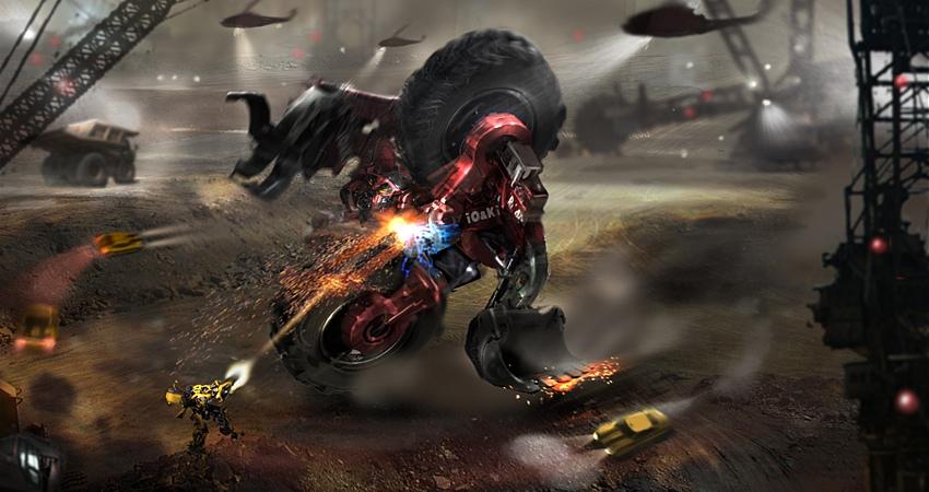 Transformers 2: Revenge of the Fallen el juego Tf2videogame1