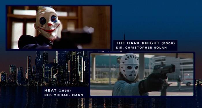 the dark knight michael mann influences
