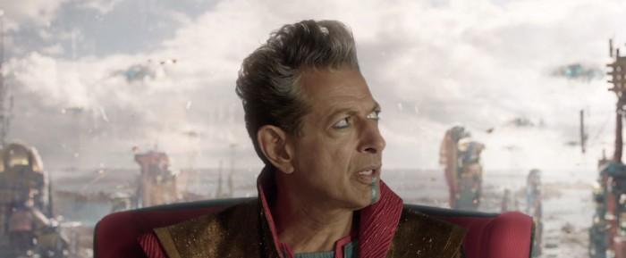 Thor Ragnarok - Jeff Goldbum as The Grandmaster