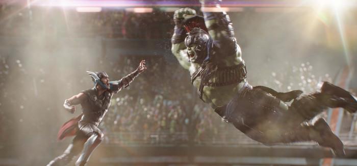 Thor vs Hulk Scene - Thor: Ragnarok