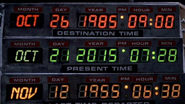 Back to the Future Celebration