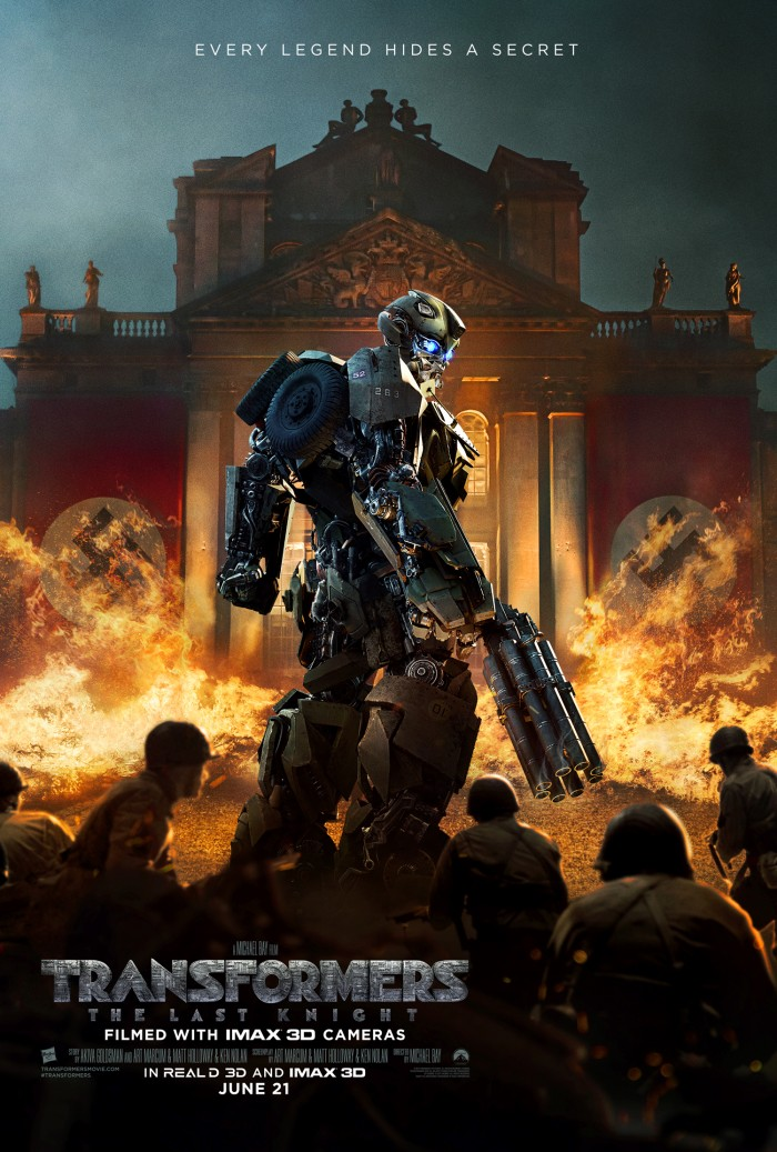 Transformers: The Last Knight Poster - Bumblebee WWII Mode