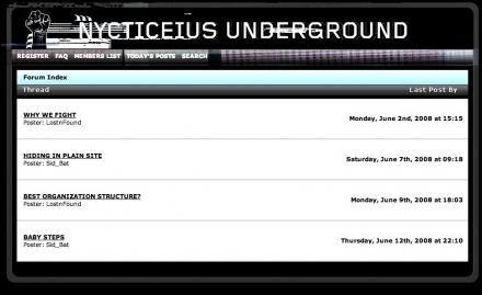 underground forum