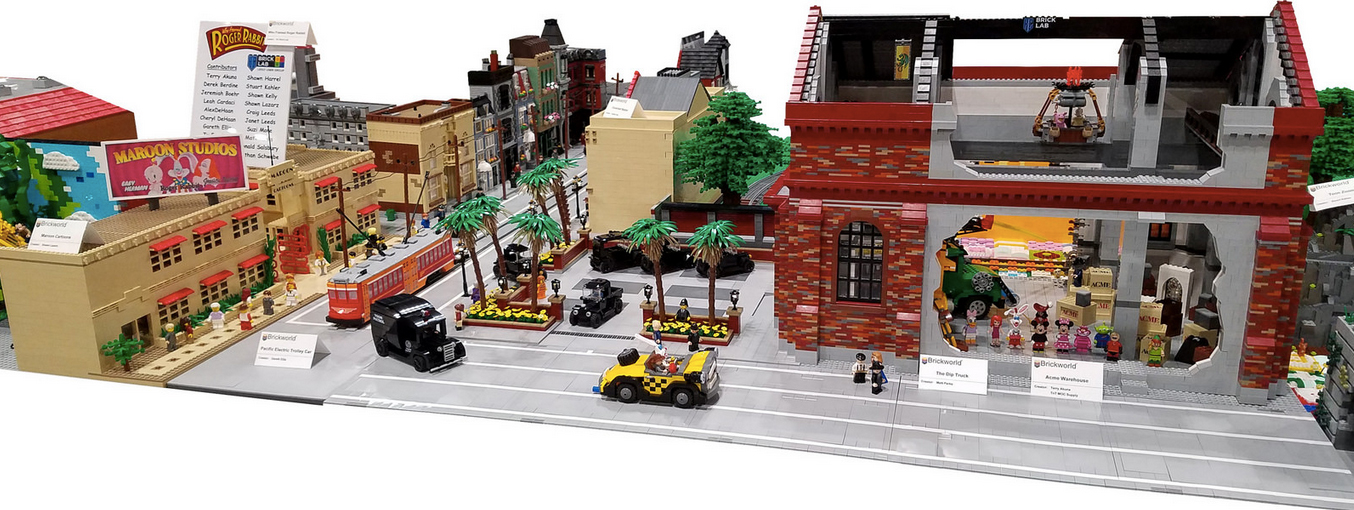 Cool Stuff: This Custom Who Framed Roger Rabbit LEGO Set Is Incredible