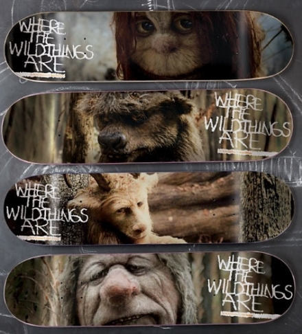 Where the Wild Things Are Skateboards