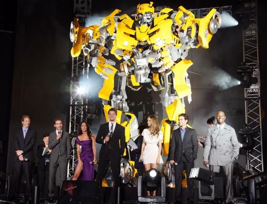 Transformers 2 premiere