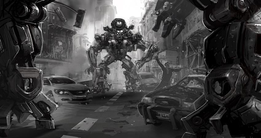 Transformers 2: Revenge of the Fallen el juego Zz157d8b09