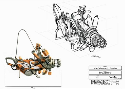 Más Diseño Conceptual de District 9 (Armas)