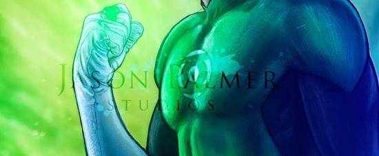 Jason Palmer's Green LAntern