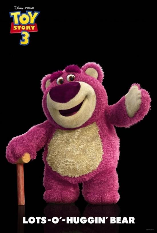 Toy Story 3 - LOTS-O'-HUGGIN' BEAR
