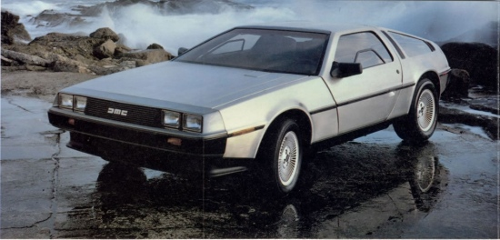 Cool Stuff Real Life Flying DeLorean From Back To The Future