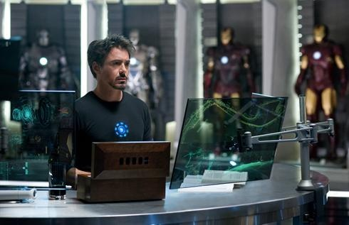 Tony Stark and his Hall of Armor