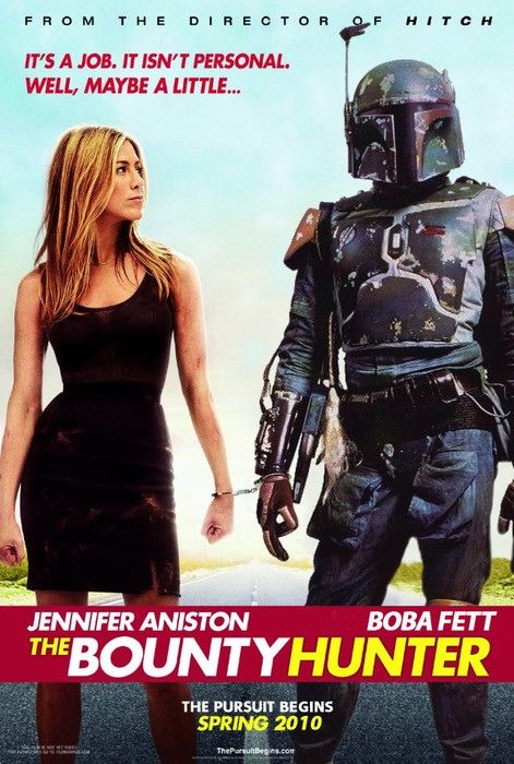 The Bounty Hunter Movie Poster (Boba Fett Edition)