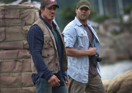 The Expendables Set Photo