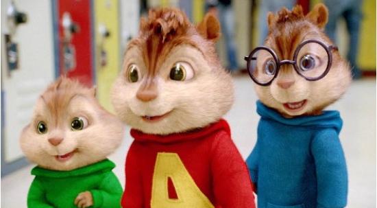 Se viene Alvin y las Ardillas 3D