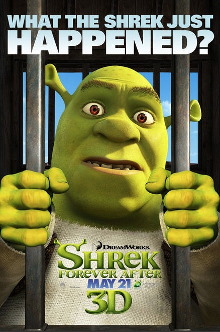 Shrek Forever After Character Banner