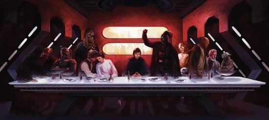 Star Wars Last Supper