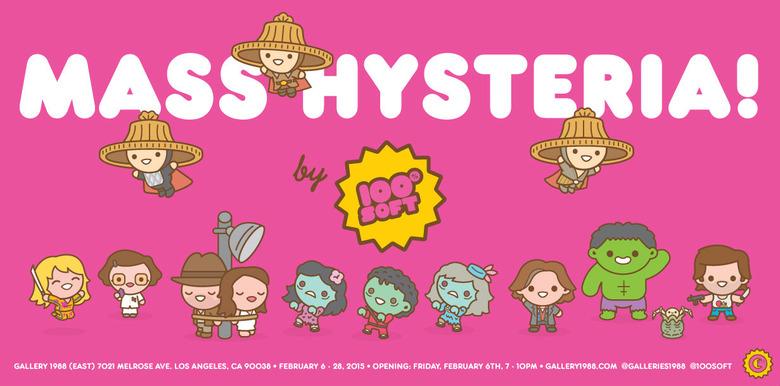 mass hysteria art show