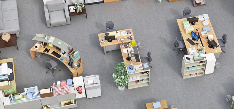 The Office 3D Floor Plan