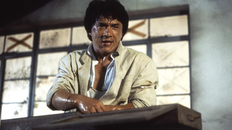 Jackie Chan in Police Story 2