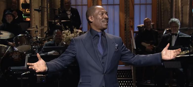 Eddie Murphy Hosting Saturday Night Live