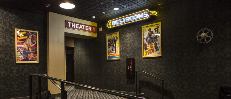 Alamo Drafthouse Downtown Brooklyn - Theater Hallway Photo by Victoria Stevens