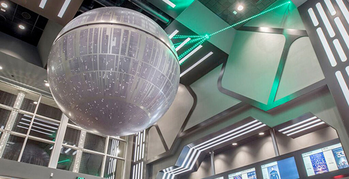 Alamo Drafthouse Star Wars Movie Theater