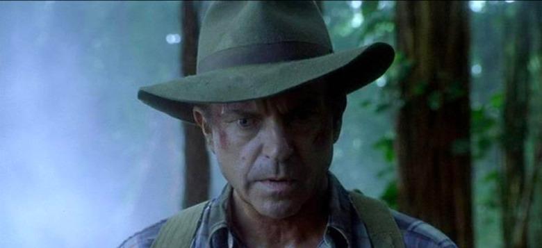 alan grant's hat