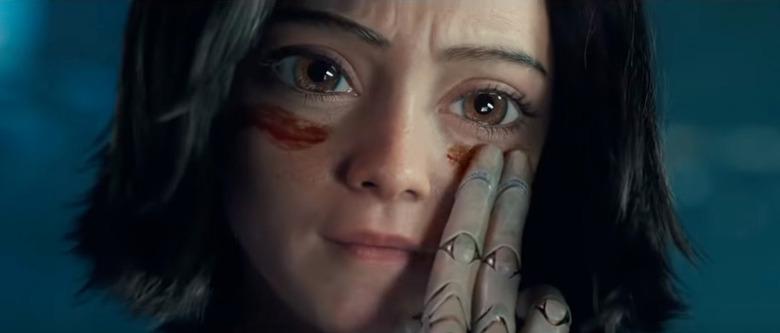 Alita Battle Angel Eyes