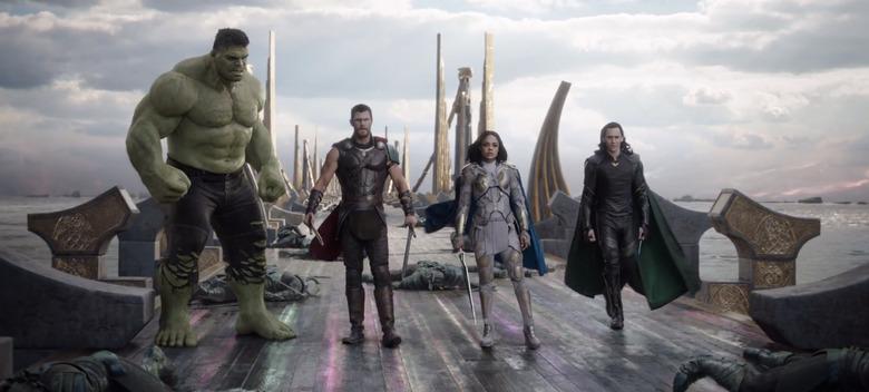 Thor Ragnarok Comic-Con Footage and Panel