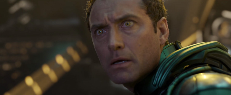 Alternate Captain Marvel Credits Scene