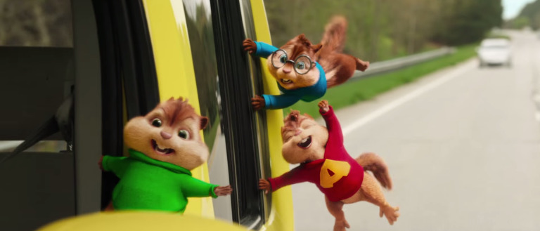 Alvin and the Chipmunks The Road Chip trailer