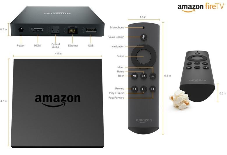 Amazon Fire TV Set-Top Box