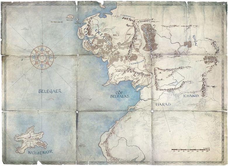 lord of the rings series setting