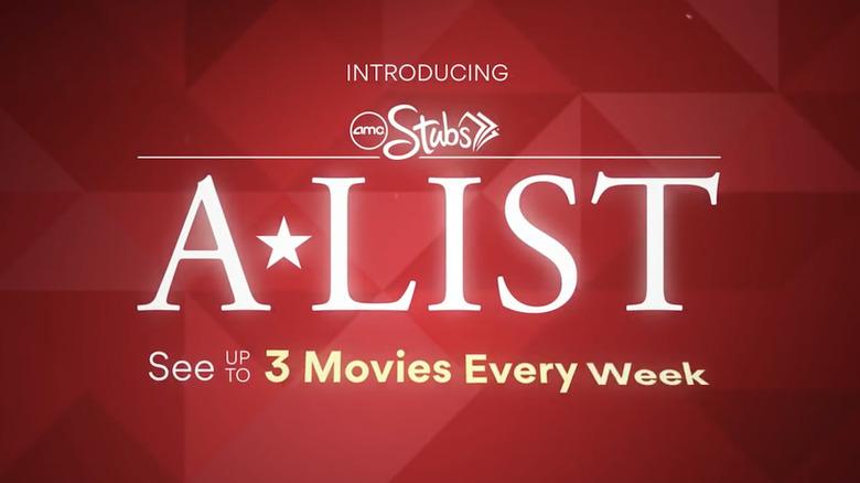 AMC Stubs A-List Review