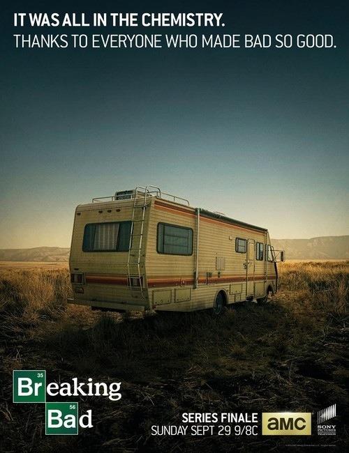 Breaking Bad Series Finale Industry advertisement