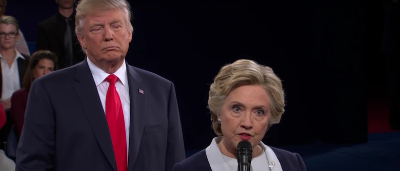 Hillary Clinton Donald Trump Presidential Debate Election 2016