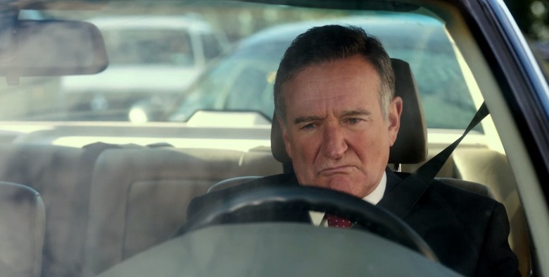 Robin Williams in The Angriest Man in Brooklyn trailer
