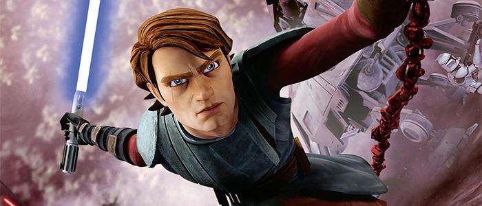 Animated Anakin Skywalker