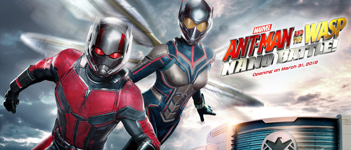 Ant-Man and the Wasp ride videos